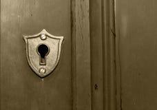 ключ отверстия Стоковое Фото