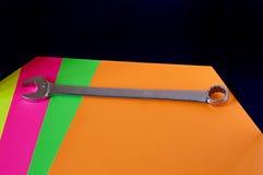 ключ предпосылки цветастый большой Стоковое фото RF