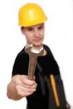 ключ работника Стоковое Фото