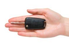 ключ руки створки автомобиля Стоковые Изображения RF