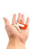 ключ руки Стоковое Фото