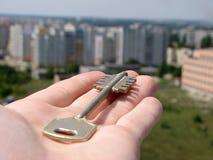 ключ руки Стоковые Изображения