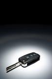 ключ темноты автомобиля предпосылки Стоковое Изображение