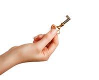 ключ удерживания руки Стоковая Фотография