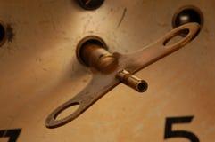 ключ часов Стоковое Фото