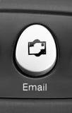 ключ электронной почты Стоковое фото RF