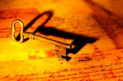ключ Стоковая Фотография RF