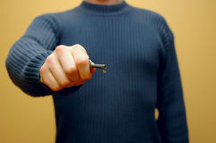 ключ 5 рук Стоковые Фотографии RF