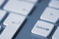 ключ delete Стоковые Изображения