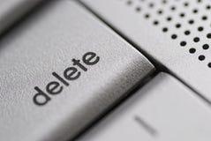 ключ delete Стоковое фото RF