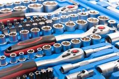 ключ toolbox гнезда Стоковые Фотографии RF