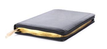 Книга библии изолированная на белизне Стоковая Фотография RF