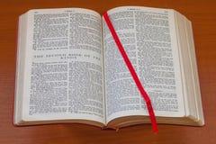 Книга библии вторых королей Стоковые Фотографии RF