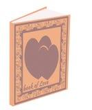 Книга влюбленности стоковая фотография rf