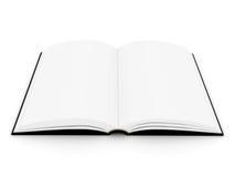 книга в твердой обложке книги открытое Стоковое Изображение