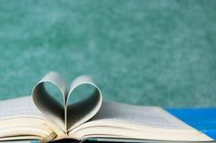 Книга в твердом переплете крупного плана изолированная на зеленом цвете Стоковые Фото