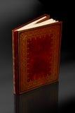 Книга дневника сбора винограда с путем клиппирования Стоковые Фотографии RF