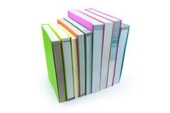 Книга изолированная на белой предпосылке Стоковое Изображение