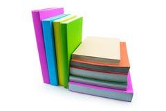 Книга изолированная на белой предпосылке Стоковые Изображения