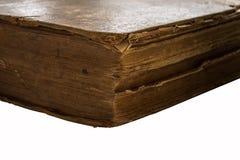 книга изолировала старую белизну Стоковая Фотография RF