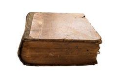 книга изолировала старую белизну Стоковое фото RF