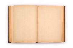 книга изолировала старую открытую белизну Стоковое Изображение