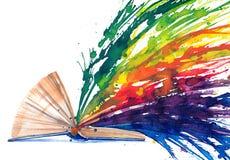 Книга - источник знания Стоковые Изображения RF