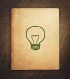 Книга идеи стоковая фотография rf