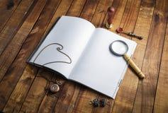 Книга и канцелярские принадлежности Стоковые Фото
