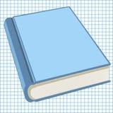 Книга на бумаге школы в клетке Стоковая Фотография RF
