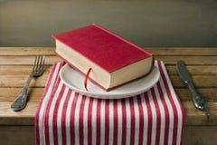 Книга на плите Стоковые Изображения RF