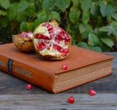 Книга на таблице Стоковая Фотография