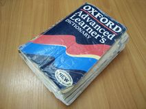 Книга Оксфорда Стоковое фото RF