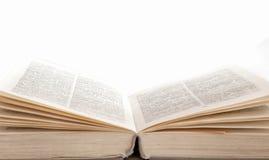 книга открытая Стоковое Изображение