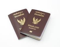 Книга пасспорта Таиланда Стоковое Изображение RF