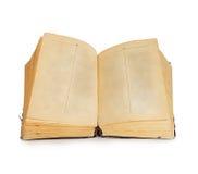 книга предпосылки изолировала старую белизну Винтаж Стоковая Фотография RF