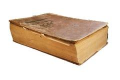 книга предпосылки изолировала старую белизну Стоковые Фото