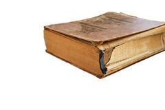 книга предпосылки изолировала старую белизну Стоковые Изображения