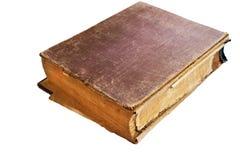 книга предпосылки изолировала старую белизну Стоковые Фотографии RF