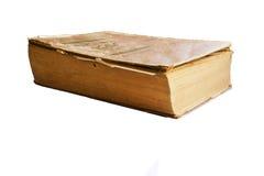 книга предпосылки изолировала старую белизну Стоковое Фото
