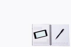 Книга план-графика Стоковая Фотография RF