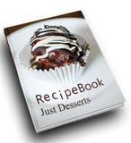 Книга рецепта Стоковое Фото