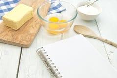 Книга рецепта Стоковое Изображение RF
