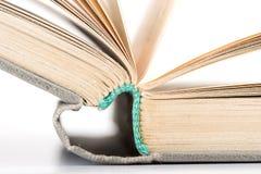 книга старая раскрывает Стоковое Изображение