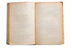 книга старая раскрывает Стоковое Изображение RF