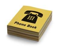 Книга телефона стоковое изображение