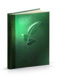 Книга травяной излечивать - путь клиппирования Стоковое фото RF