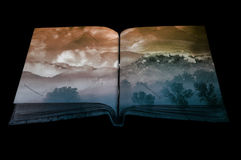 Книга фантазии Стоковые Фотографии RF