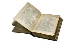 книга 2 старая Стоковые Изображения