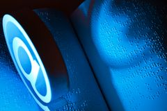 книга braille Стоковая Фотография RF